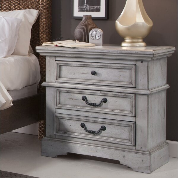 Kennison 3 Drawer Nightstand by Darby Home Co