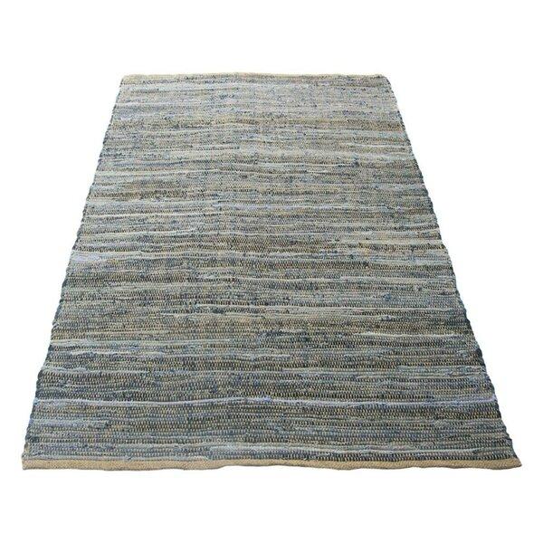 Cronk Designed Blue Indoor/Outdoor Area Rug by Highland Dunes