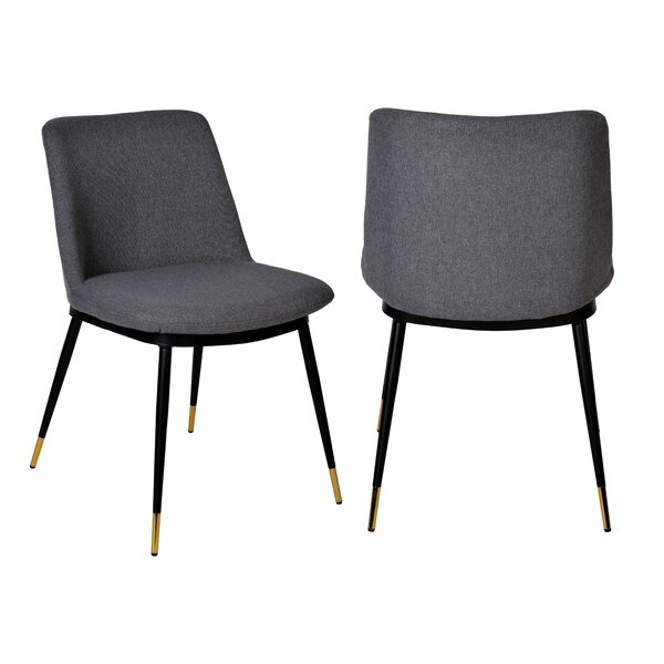 Calera Upholstered Dining Chair (Set of 2) by Corrigan Studio Corrigan Studio