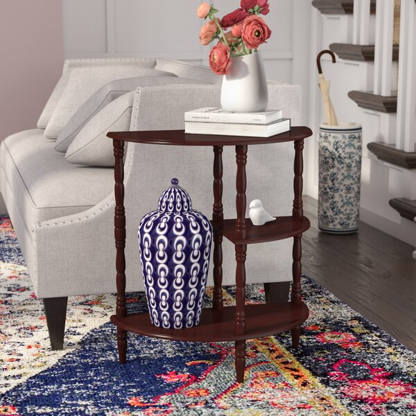 Buchholz Multi Tiered End Table by Charlton Home