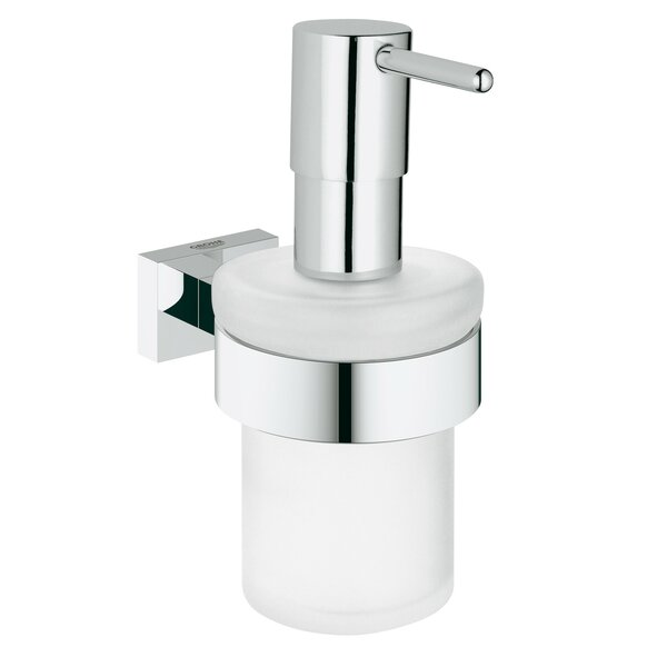 Essentials Cube Soap Dispenser by Grohe