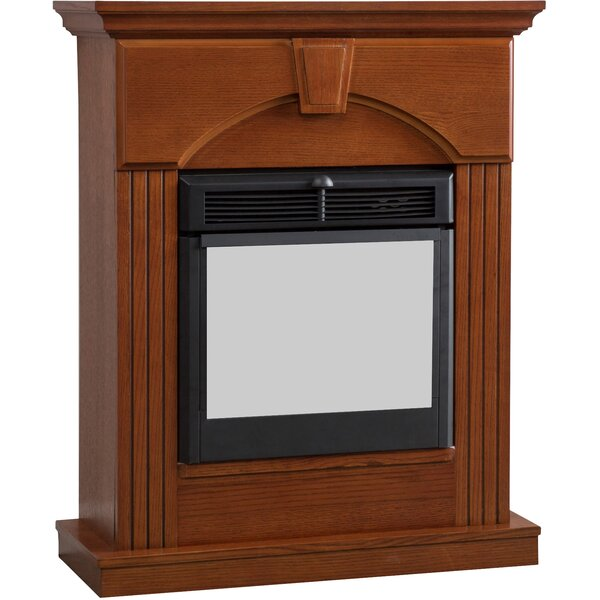 Oakridge Traditional Electric Fireplace by Alcott Hill