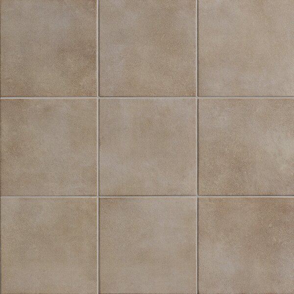 Poetic License 18 x 18 Porcelain Field Tile in Oyster by PIXL