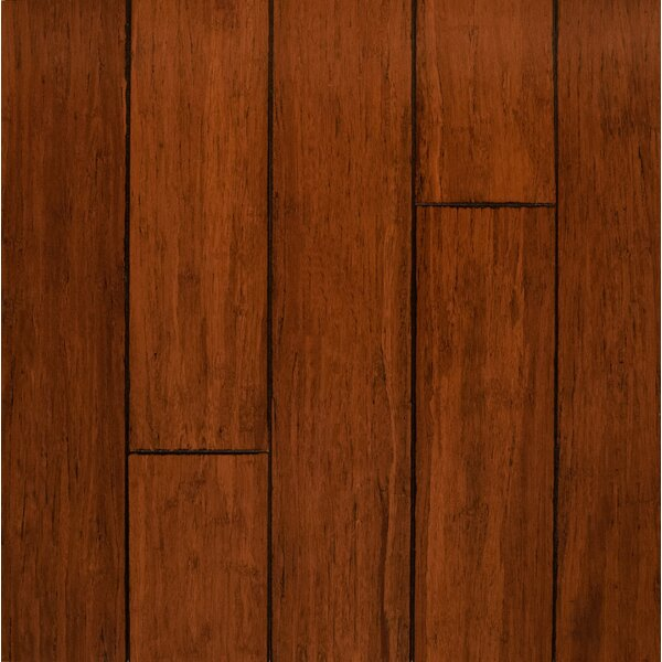5 Engineered Bamboo  Flooring in Tawny by Bamboo Hardwoods