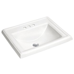 Reviews Dawn Vitreous China Rectangular Drop-in Bathroom Sink with Overflow By ANZZI