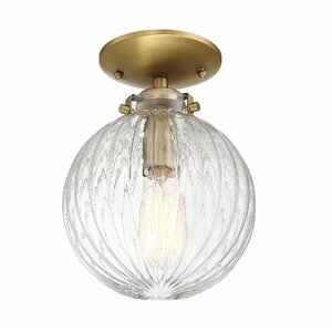 Nevarez 1-Light Semi Flush Mount