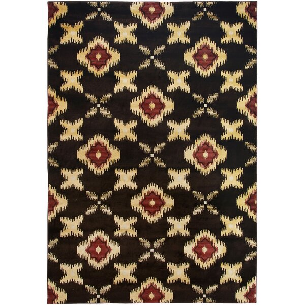 Culver Brown Area Rug by Threadbind