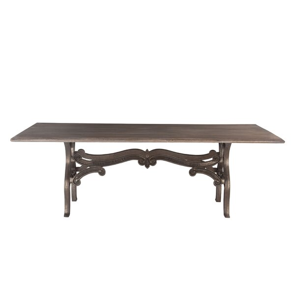 Perrysburg Solid Wood Dining Table by Fleur De Lis Living