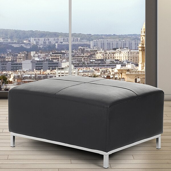 Lillo Cube Ottoman by Home Loft Concepts