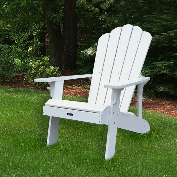 Borica Plastic Adirondack Chair by Breakwater Bay Breakwater Bay