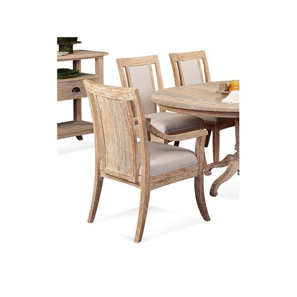 Cimarron Upholstered Dining Armchair by Braxton Culler Braxton Culler