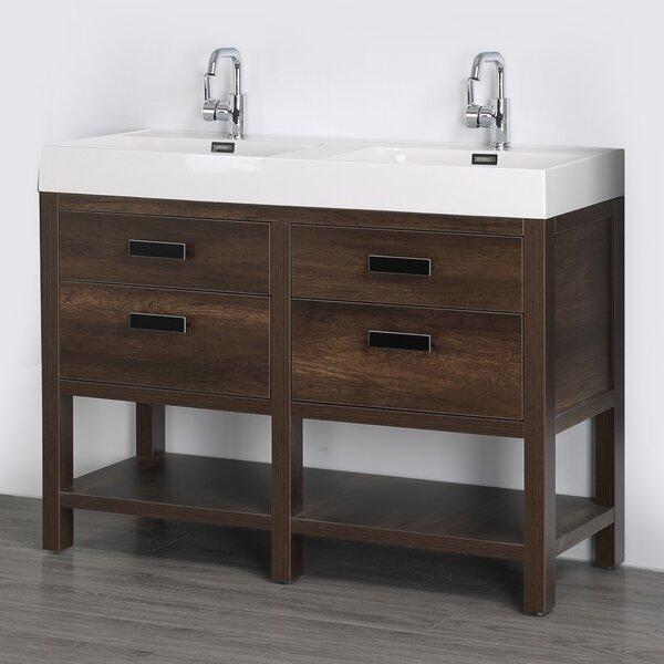 47 Double Bathroom Vanity Set by Streamline Bath