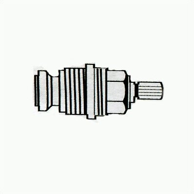 Compression Cartridge for Kitchen and Bathroom Valves by Grohe