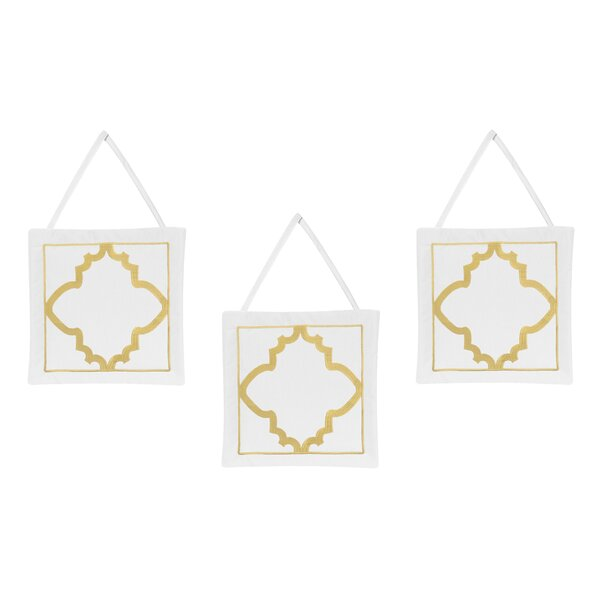 Trellis Wall Hanging Art (Set of 3) by Sweet Jojo Designs