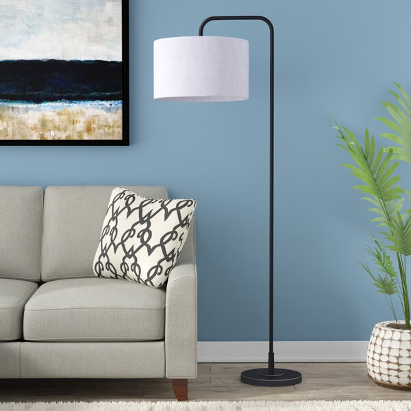 Dale 63.75 Arched Floor Lamp by Langley Street