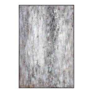 'Quake Modern' Framed Painting Print by Orren Ellis