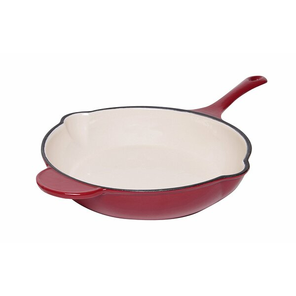 Dual Handles Non-Stick Frying Skillet by Ashco Man