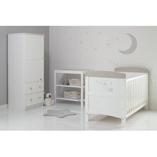 Winnie The Pooh Cot Bed 3 Piece Nursery Furniture Set