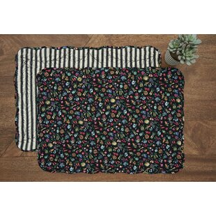 January Cotton 19 Placemat (Set of 6) by Gracie Oaks