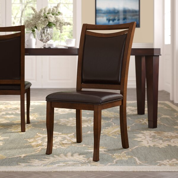 Neymar Upholstered Dining Chair (Set of 2) by Hokku Designs Hokku Designs