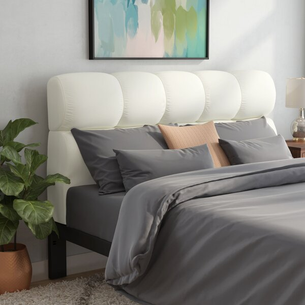 Felton Upholstered Panel Headboard by Brayden Studio