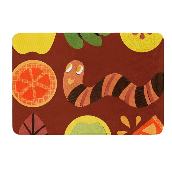 Autumn Repeat by Jane Smith Bath Mat by East Urban Home