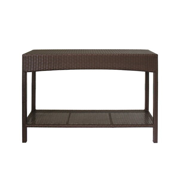 Shirebrook Wicker/Rattan Buffet & Console Table by Sol 72 Outdoor