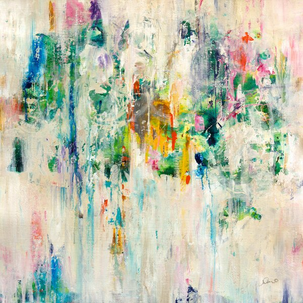 Splash Painting Print on Wrapped Canvas by Langley Street