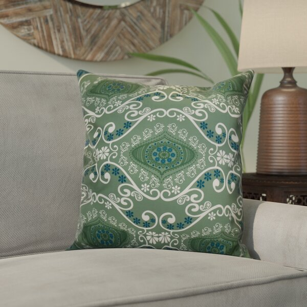 Soluri Illuminate Geometric Outdoor Throw Pillow by Bungalow Rose