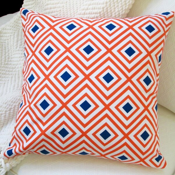 Cotton Throw Pillow by Artisan Pillows