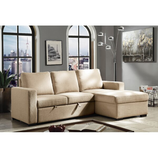 Kimes Sleeper Sectional by Winston Porter