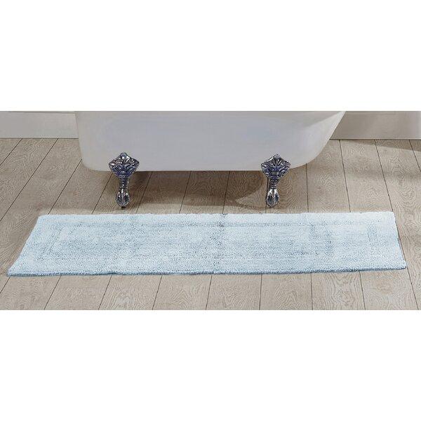 Rozanne Rectangle 100% Cotton Reversible Bath Rug