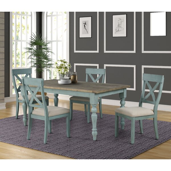 Cierra 5-Piece Dining Set by Ophelia & Co. Ophelia & Co.