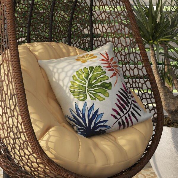 Bay Isle Home Costigan Brambles Floral Print Outdoor Throw Pillow U0026 Reviews  | Wayfair