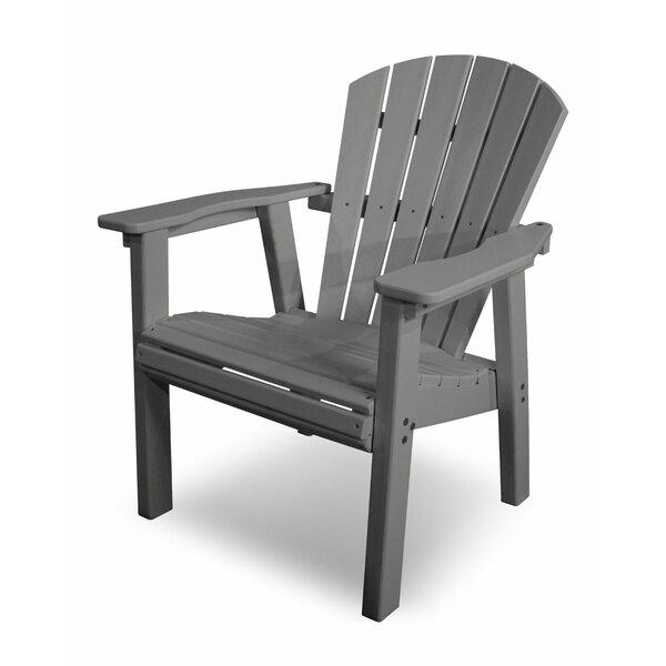 Seashell Casual Plastic Adirondack Chair by POLYWOOD®