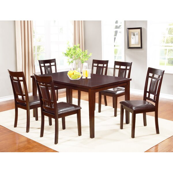 Corlew 7 Piece Dining Set by Winston Porter