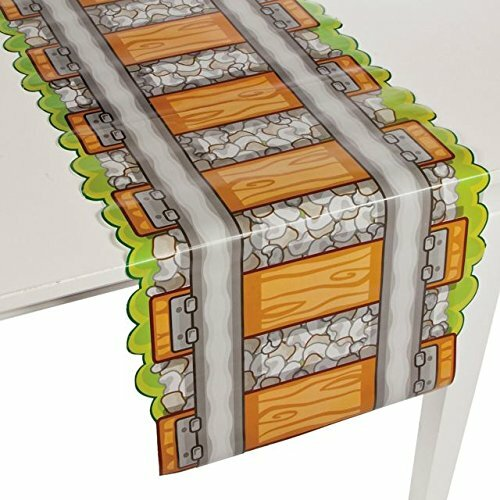 Hirth Paper Railroad Track Table Runner by Zoomie Kids