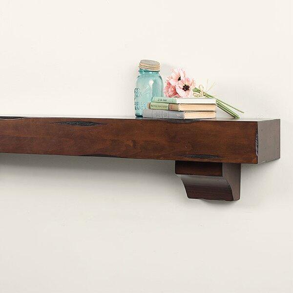 Natural Wood Fireplace Shelf Mantel By Mantels Direct