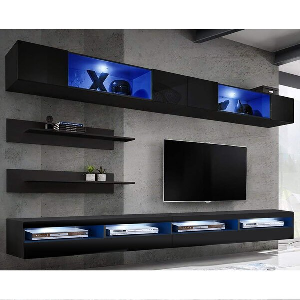 Bergenia Floating Entertainment Center for TVs up to 70