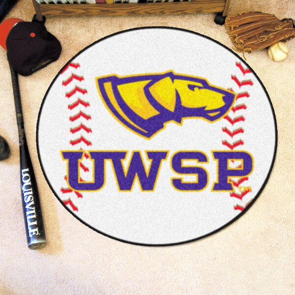 NCAA University Of Wisconsin-Stevens Point Baseball Mat by FANMATS