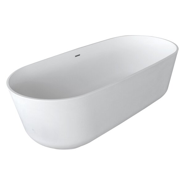 Sabbia 70.8 x 31.5 Freestanding Soaking Bathtub by ANZZI