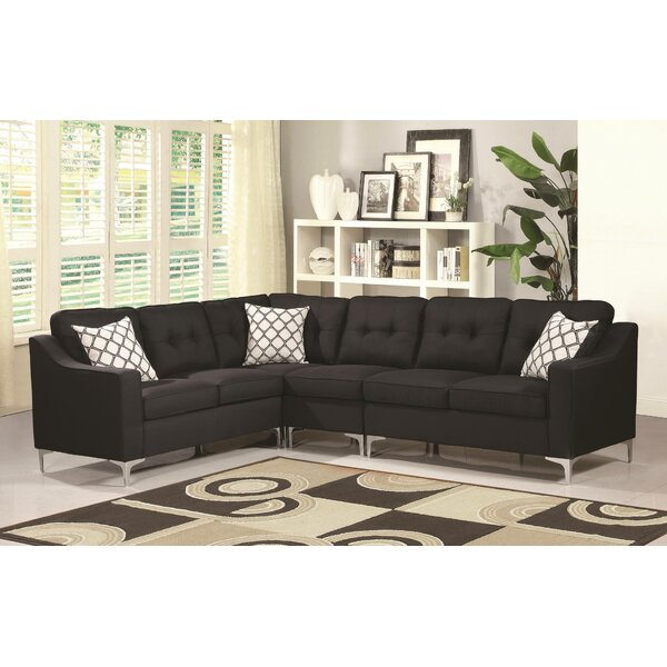 Bairdstown Tufted Sectional by Ivy Bronx
