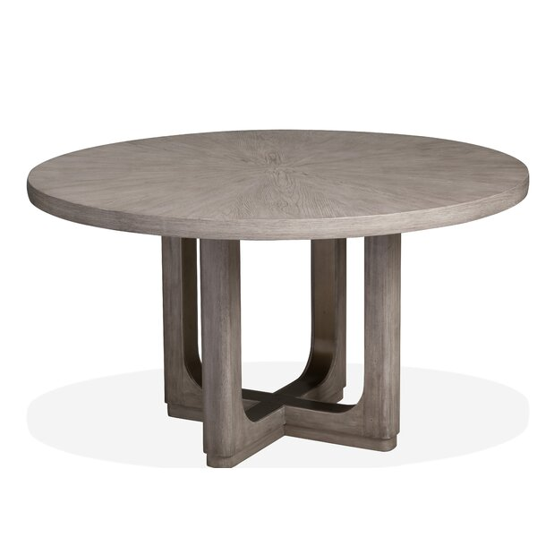 Freitas Wood Dining Table by Gracie Oaks