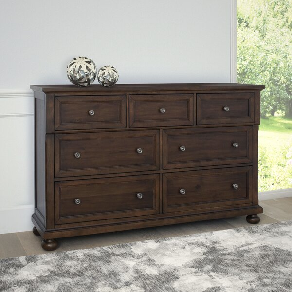 Chilmark 7 Drawer Double Dresser by Darby Home Co