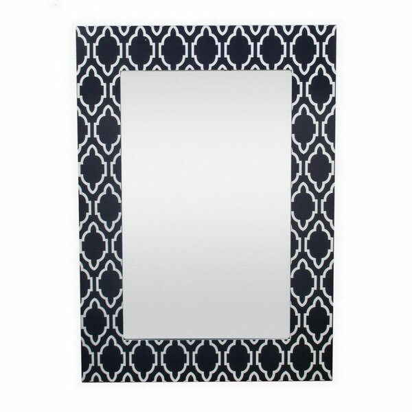 Forney Wood Framed Accent Mirror by World Menagerie