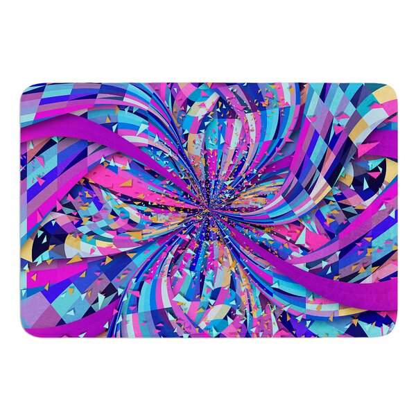 Flavours Explosion by Danny Ivan Bath Mat by East Urban Home