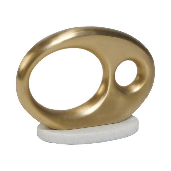 Oval Metal Object by DwellStudio
