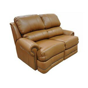 Morgan Reclining Loveseat by Omnia Leather
