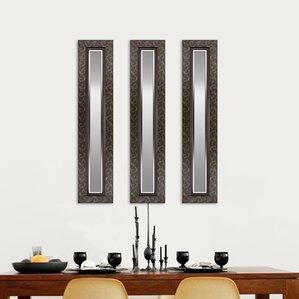 Wall Mirror Set Of 3 find the best mirror sets | wayfair
