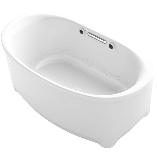 Underscore Oval Freestanding BubbleMassage™ Air Bath by Kohler